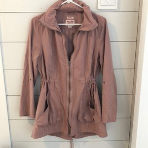 Blush anorak jacket
